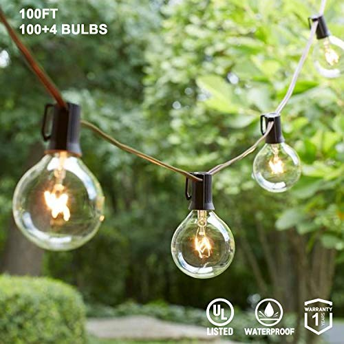 100 Ft Outdoor Globe Lights in US - 4