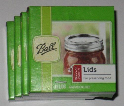 Ball Regular Mouth Jar Lids 4 pack by Ball (Image #1)