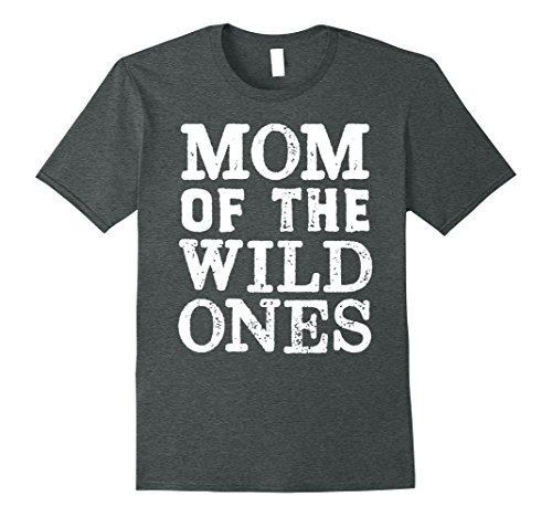 Mens Dad of the Wild One s - Funny Parent Tees - The Wild Family 3XL Dark Heather