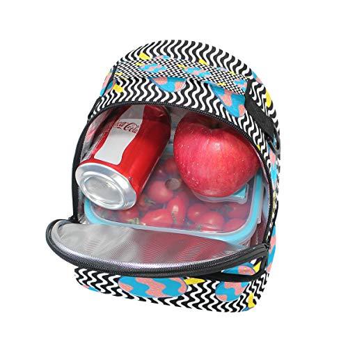 bandoulière pour Sac Cooler Pincnic Motif avec à à réglable lunch Tote Boîte isotherme Folpply l'école glace 0AvW7gnWU