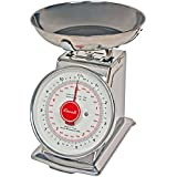 Escali Mercado Classic Design and Function Scale, Stainless Steel