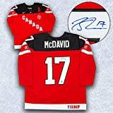Connor McDavid Team Canada Autographed 100th Anniversary Nike Hockey Jersey