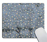 Smooffly Star Mouse Pad Stars Mousepad Sky Mouse Pad Twinkle Star Mouse Pad Square Mouse Pad Blue Mousepad Star Mouse Pad Cute Mouse Pad Stars