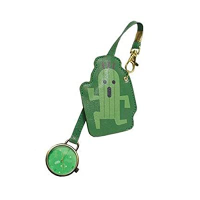 Taito Final Fantasy XV Bag Charm Watch - Cactuar: Toys & Games