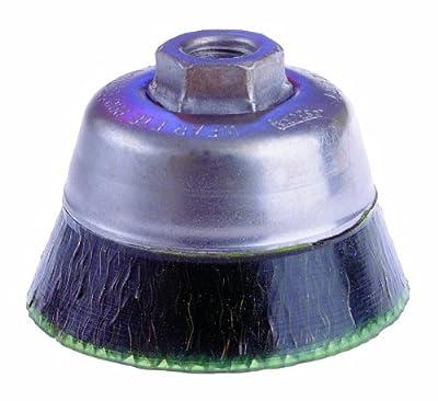 "Osborn International 32631SP TY Encapsulated Steel Cup Brush -Standard Duty, 7500 RPM Maximum Rotational Speed, 3-1/2"" Diameter"