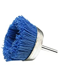 Dico 541-786-21/2 Nyalox Cup Brush 21/2-Inch Blue 240 Grit