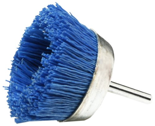 Dico 541-786-21/2 Nyalox Cup Brush 21/2-Inch Blue 240 Grit (Grout Haze Remover)