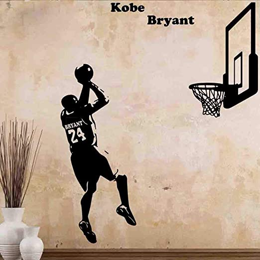 Baloncesto Kobe Bryant of The Shoot Arte de la Pared Tatuajes de ...