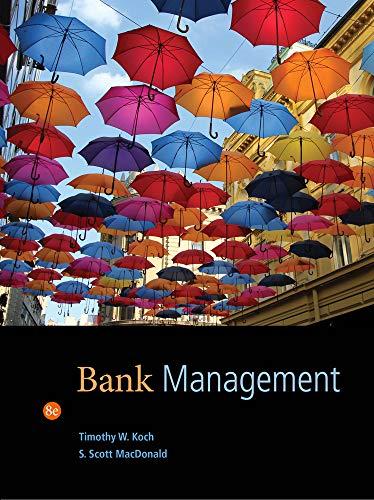 6 best bank management 8th edition koch