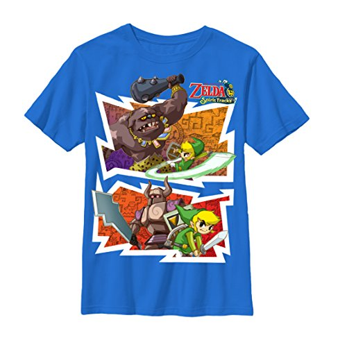 Nintendo Boys Fight Night, Royal, X-Large