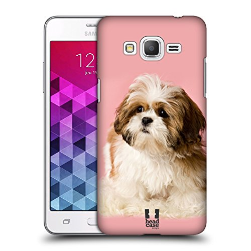 Head Case Designs Shih Tzu Puppy Popular Dog Breeds Protective Snap-on Hard Back Case Cover for Samsung Galaxy