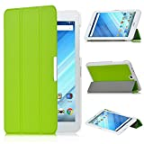 Acer Iconia One 8 B1-850 case, KuGi ® Acer Iconia One 8 B1-850 - High quality ultra-thin Smart Cover Case Only fit for Acer Iconia One 8 B1-850 tablet (Green)