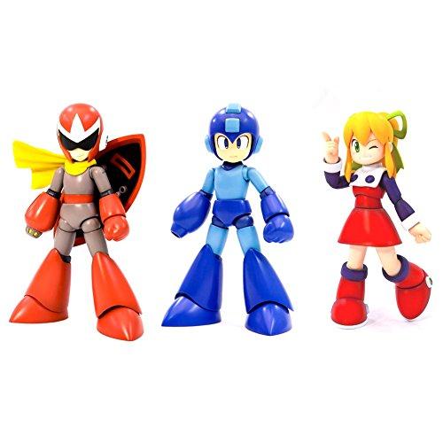 Rockman, Roll, and Blues Mega Man Kotobukiya 1/10 Scale Kit Bundle