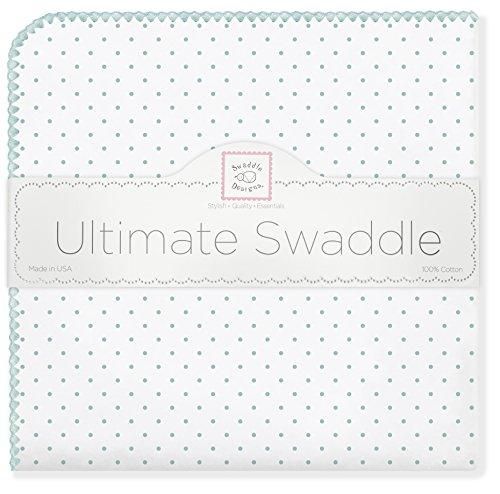 SwaddleDesigns Ultimate Swaddle Blanket SeaCrystal