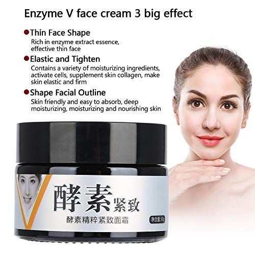 Face Lifting Firming Cream, Anti-Aging Skin Moisturizing Lotion for Facial Slimming V-Shape Beauty Mask