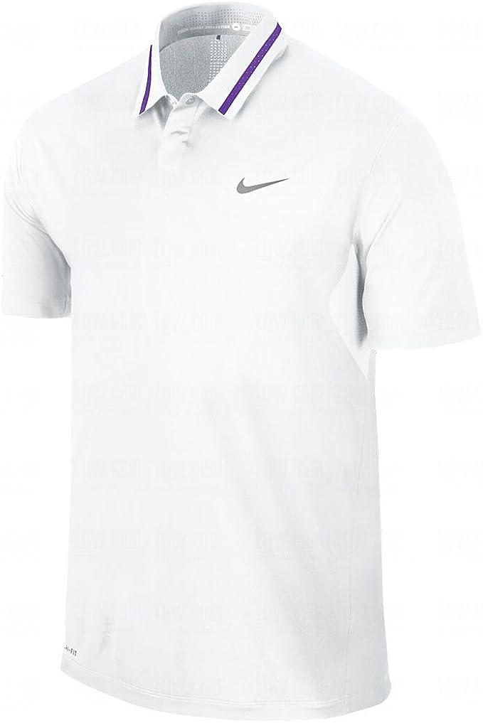 Camiseta Nike TW Ultra Polo para hombre - X-Large - Blanco: Amazon ...