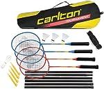 Carlton Tournament Set de 4 raquettes de badminton G4 Ho