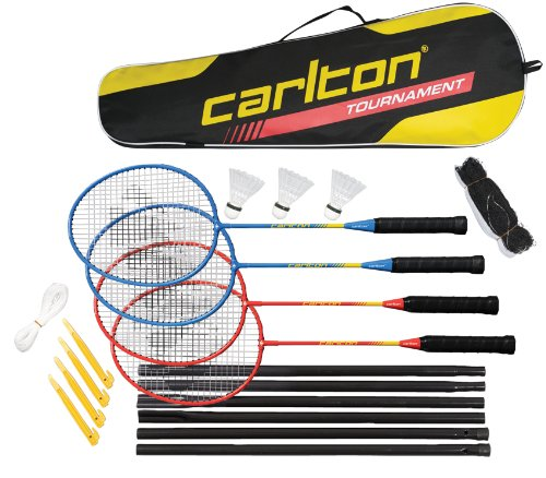 Dunlop Set Carlton Tournament, Rot - Blau, One size, 113465