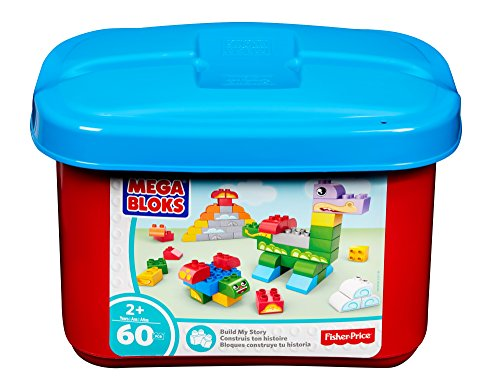 Mega Bloks Build a Story Small Tub Classic Building Blocks Building Kit