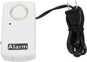 Power Failure Alarm, Automatic Power Cut Failure Alarm 120db Home Security LED Indicator Outage Alarm Warning Siren, CN Plug 220V, White