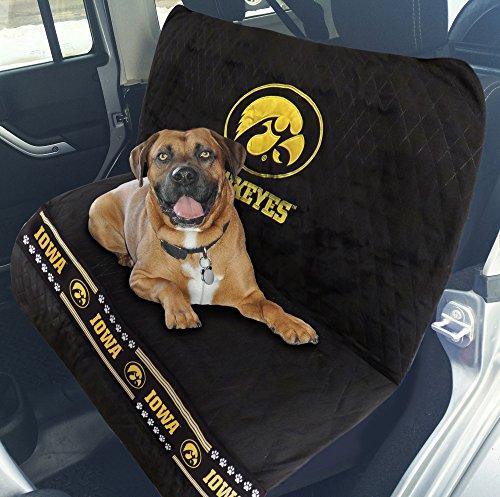 Pets First Collegiate Iowa Hawkeyes Pet Car Seat (Iowa Hawkeyes Seat)