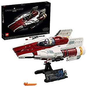 LEGO Star Wars A-Wing Starfighter 75275 Building Kit; Collectible Building Set for Adults; Makes a for Star Wars Fans…