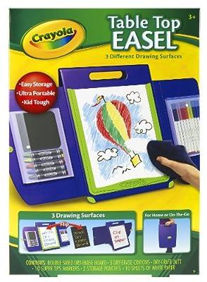 Crayola Tabletop Portfolio Style Easel from Crayola