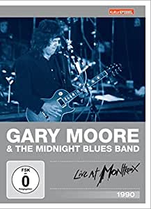 Gary Moore & The Midnight Blues Band - Live at Montreux 1990 (Kulturspiegel Edition) [Alemania] [DVD]