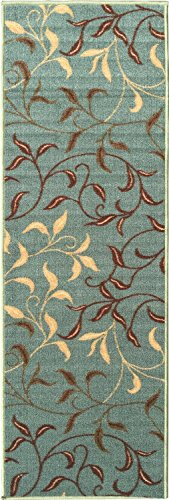 Ottomanson Contemporary Leaves Non Skid Backing product image