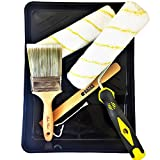 Bates - Paint Roller, Paint Brush, Paint Tray, Roller Paint Brush, Home Painting Supplies, House Painting Tray, Painting tools, Roller and Paint Brushes, Wall Paint Brushes