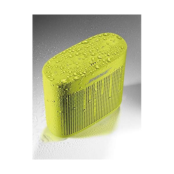 Enceinte Bluetooth SoundLink ColorII - Jaune citron 6