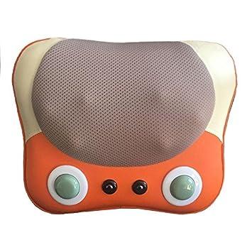 Masaje cervical cuello masaje almohada de masaje Masaje corporal multi-funcional masaje almohadilla eléctrica Masajeadora