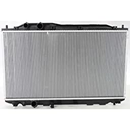 Make Auto Parts Manufacturing - CIVIC 06-11 RADIATOR, Coupe w/A.T. / Sedan GX model - HO3010208