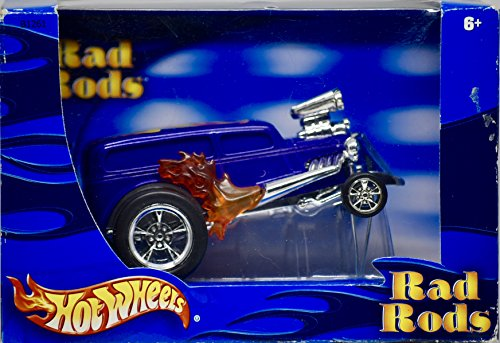 Blown Hot Rod (Hot Wheels Rad Rods Hotwheels 1932 Ford Coupe '32 Blown w/ Flames)