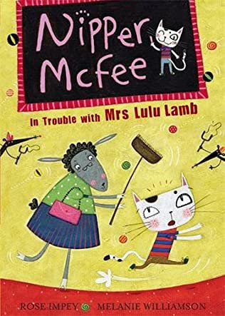 book cover of In Trouble with Mrs Lulu Lamb