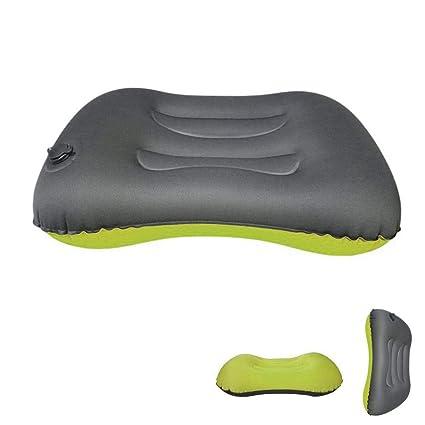 8fb6c39e44 FOONEE Camping, Cuscino ergonomico, Cuscino Gonfiabile da Viaggio per Collo  e Schiena Mentre Campeggio