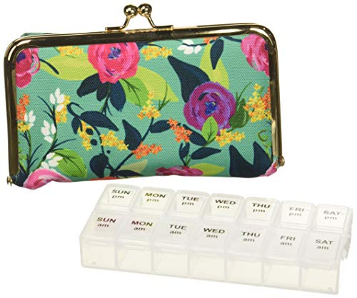 Mary Square 23263 Snap Pill Case 'Nantucket', 4 x 6 x 2