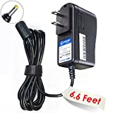 T-Power (6.6ft Long Cable) Ac Dc adapter for Tascam DR-1 DR-2d DR-100 DP-004 DP-008 DR-V1HD Tascam DR-100MKII DR100MKII DR-V1HD DRV1HD Digital Pocket Studio Tuner Metronome Memo Recorder Portable