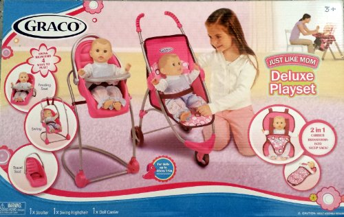 Graco Baby Doll Stroller And Carrier - 3