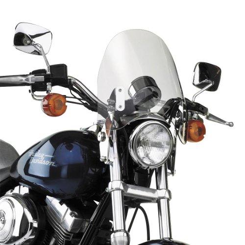07-18 KAWASAKI VN900C: National Cycle Switchblade Deflector Windshield (Clear)