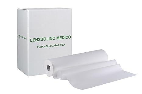 Rotoli Per Lettino Massaggio.6 Rotoli Carta Lettino Massaggio Lenzuolino Medico Lunghezza 68