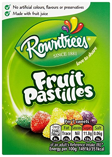 Nestle Rowntree Fruit Pastilles Box