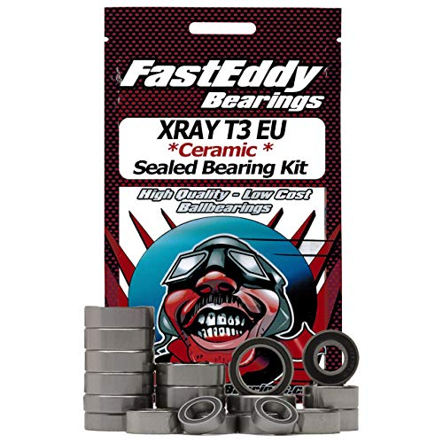 XRAY T3 EU Ceramic Rubber Sealed Ball Bearing Kit for for sale  Delivered anywhere in USA