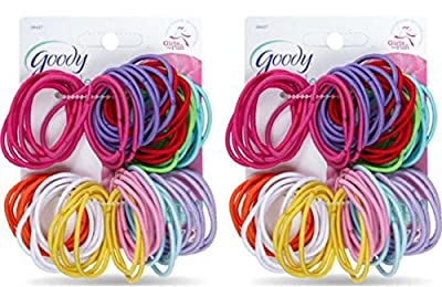 Goody - Ouchless No Metal Gentle Elastics #09427,Assorted Colors
