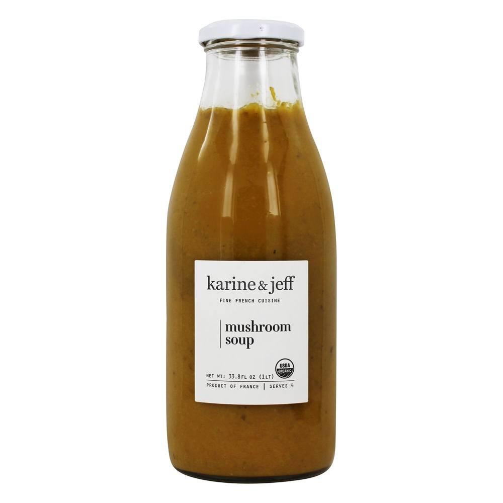Karine & Jeff Mushroom Soup - Organic - Gluten Free - Vegan Ingredients | 33.8 oz