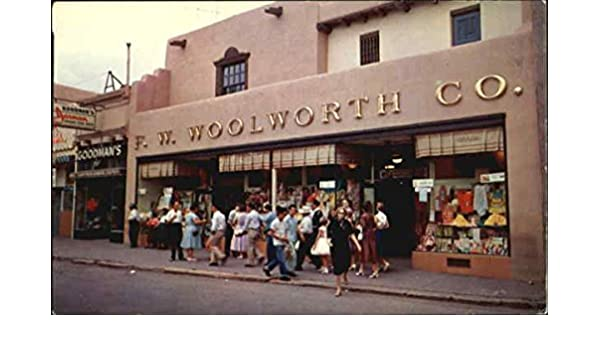 Amazon com: F  W  Woolworth Store Santa Fe, New Mexico