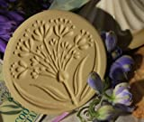 Brown Bag Alium Flower Cookie Stamp - Art Nouveau Flower Series