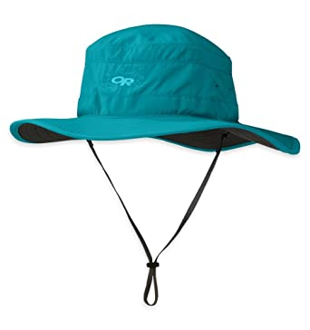 1217130a6da78 Outdoor Research Women s Solar Roller Sun Hat Alpine Lake   Dark Grey S    Cap