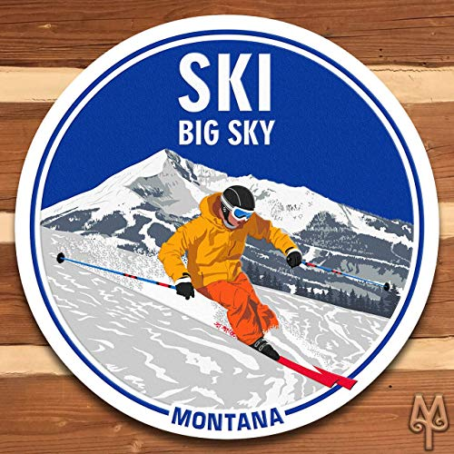 (New Ski Big Sky, Montana, Wall Sign)