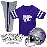 Franklin Sports NCAA Kansas State Wildcats Deluxe Youth Team Uniform Set, Small